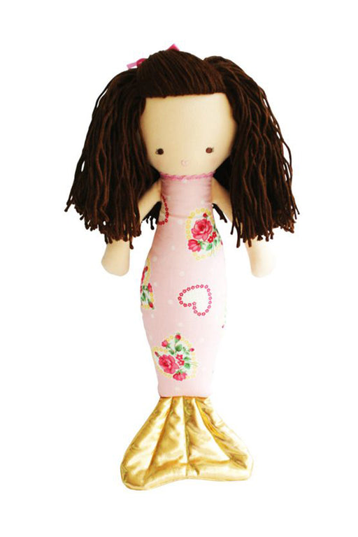Alimrose-Mermaid Girls Doll Heart Pink 42cm-Mott and Mulberry