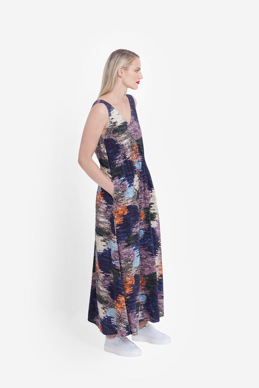 ELK-Arden Long Dress-mott-and-mulberry-shop-online-brisbane