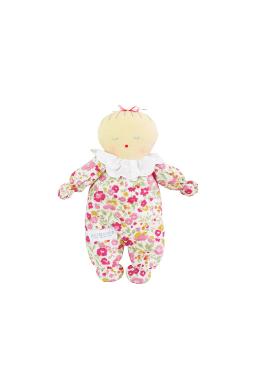 Alimrose-Asleep Awake Baby Doll 24 cm Rose Garden-mott-and-mulberry-shop-online-brisbane