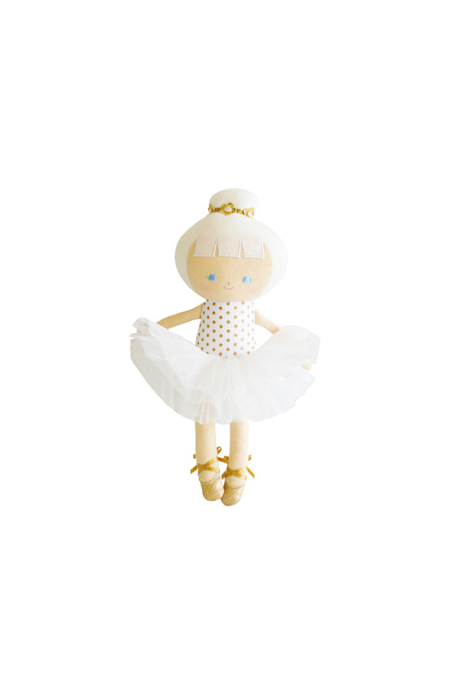 Alimrose-Baby Ballerina 25cm Gold Spot-mott-and-mulberry-shop-online-brisbane