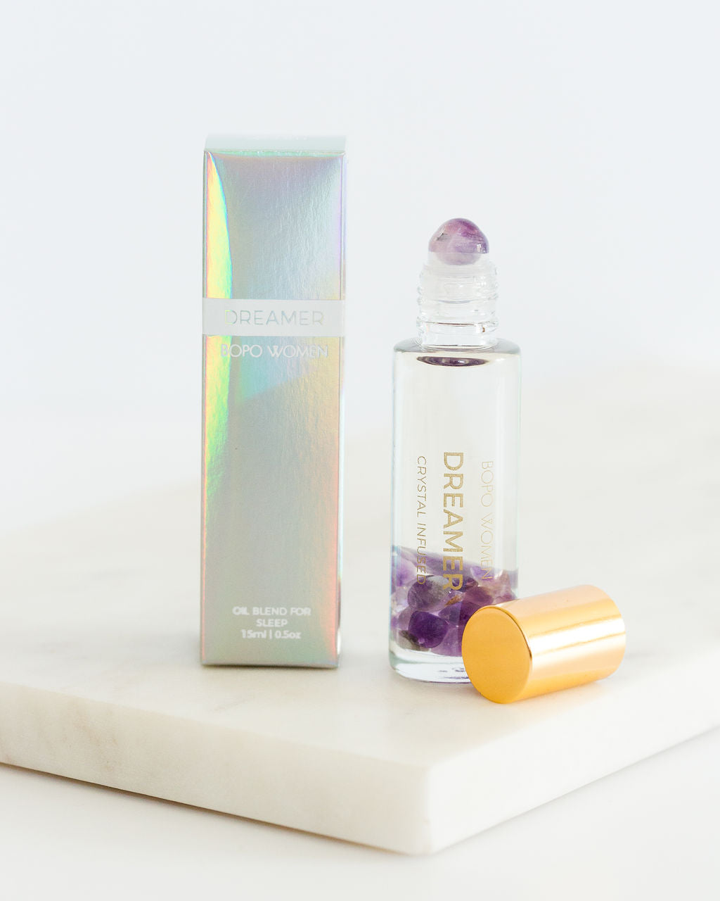 Bopo Women-Bopo Women Dreamer Crystal Perfume Roller-Mott and Mulberry
