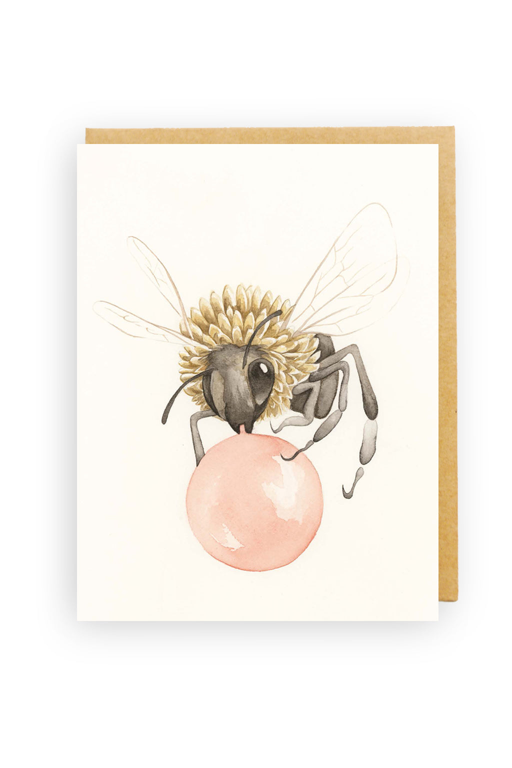 Squirrel Design Studio-Bubble Bee - Greeting Card-Mott and Mulberry