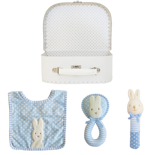 Alimrose-Welcome to the World Gift Set - Bunnies Blue-mott-and-mulberry-shop-online-brisbane