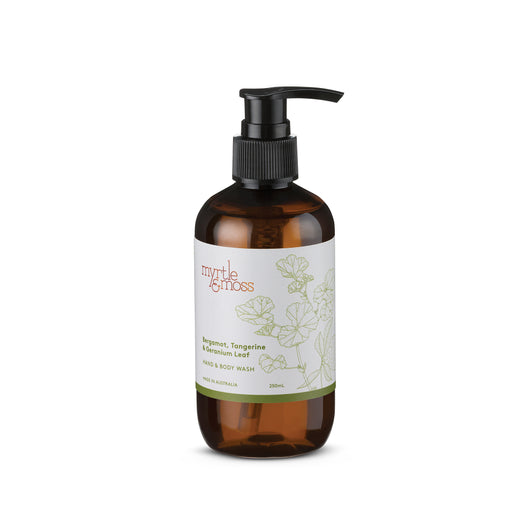 Myrtle and Moss-Bergamot Body Wash  250 ml-mott-and-mulberry-shop-online-brisbane