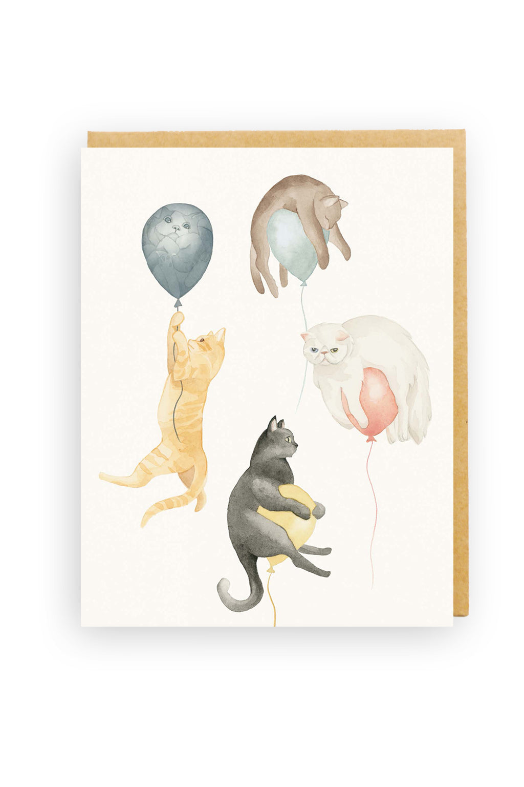 Squirrel Design Studio-Catch My Drift - Greeting Card-Mott and Mulberry