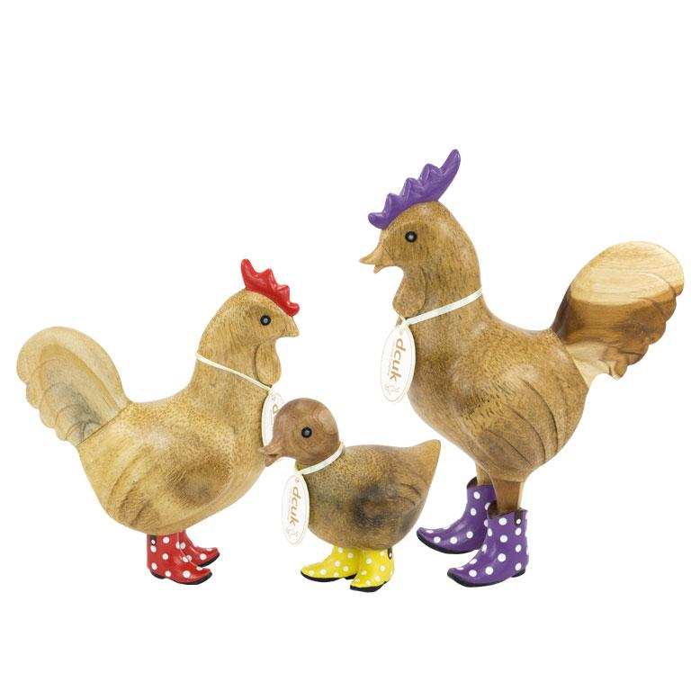 DCUK-Hen with Cowboy boots - Lily-Mott and Mulberry