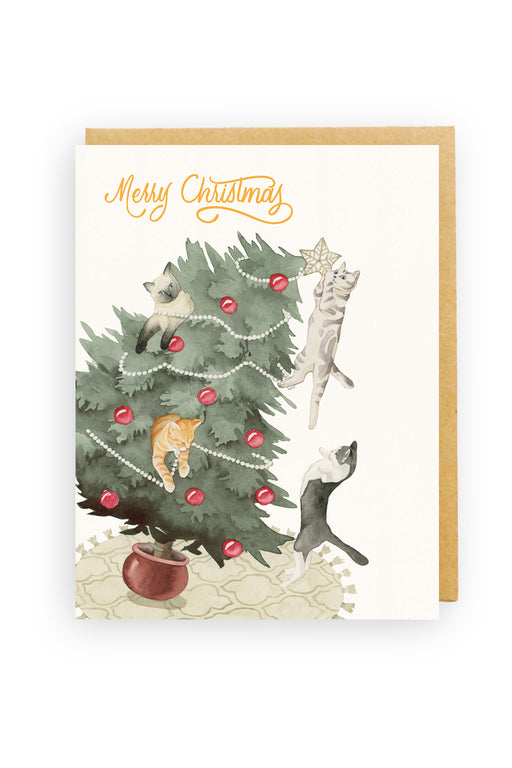 Squirrel Design Studio-Christmas Chaos - Christmas Card-Mott and Mulberry