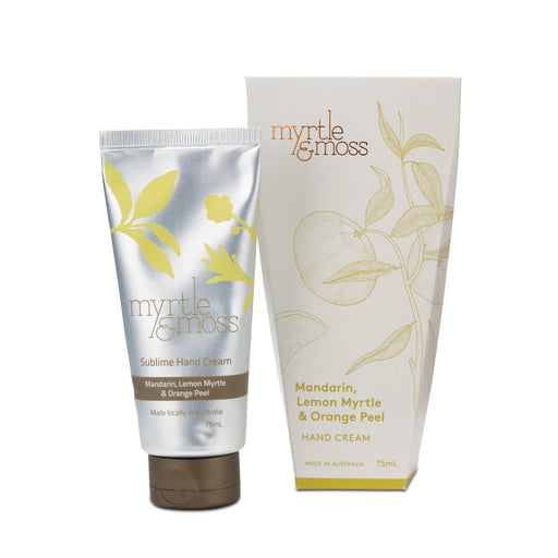 Myrtle and Moss-Citrus Hand Cream-mott-and-mulberry-shop-online-brisbane