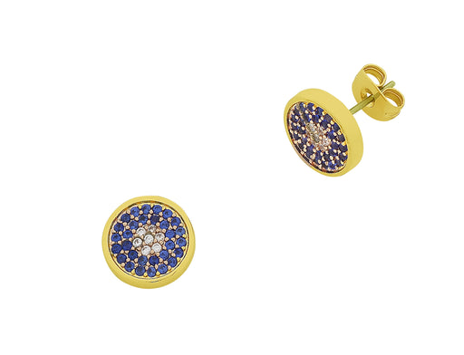Liberte-Whitney Gold Earring-mott-and-mulberry-shop-online-brisbane