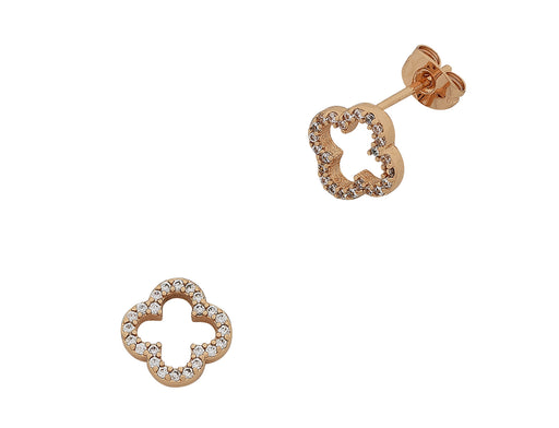 Liberte-Poppy Rose Gold Earring-mott-and-mulberry-shop-online-brisbane