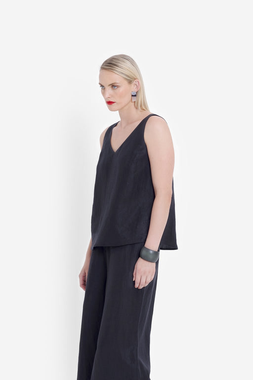 ELK-Garmo Tank Gunmetal-mott-and-mulberry-shop-online-brisbane