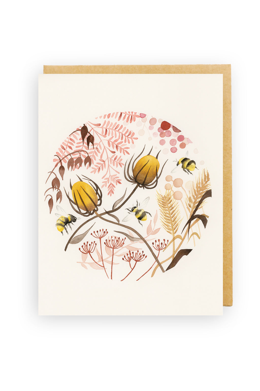 Squirrel Design Studio-Gold Afternoon - Greeting Card-Mott and Mulberry