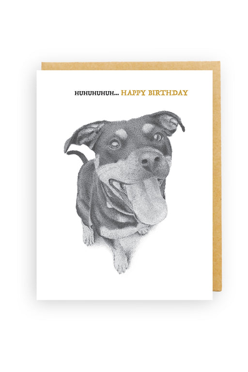 Squirrel Design Studio-Huhuhuhuh...Happy Birthday - Birthday Card-Mott and Mulberry