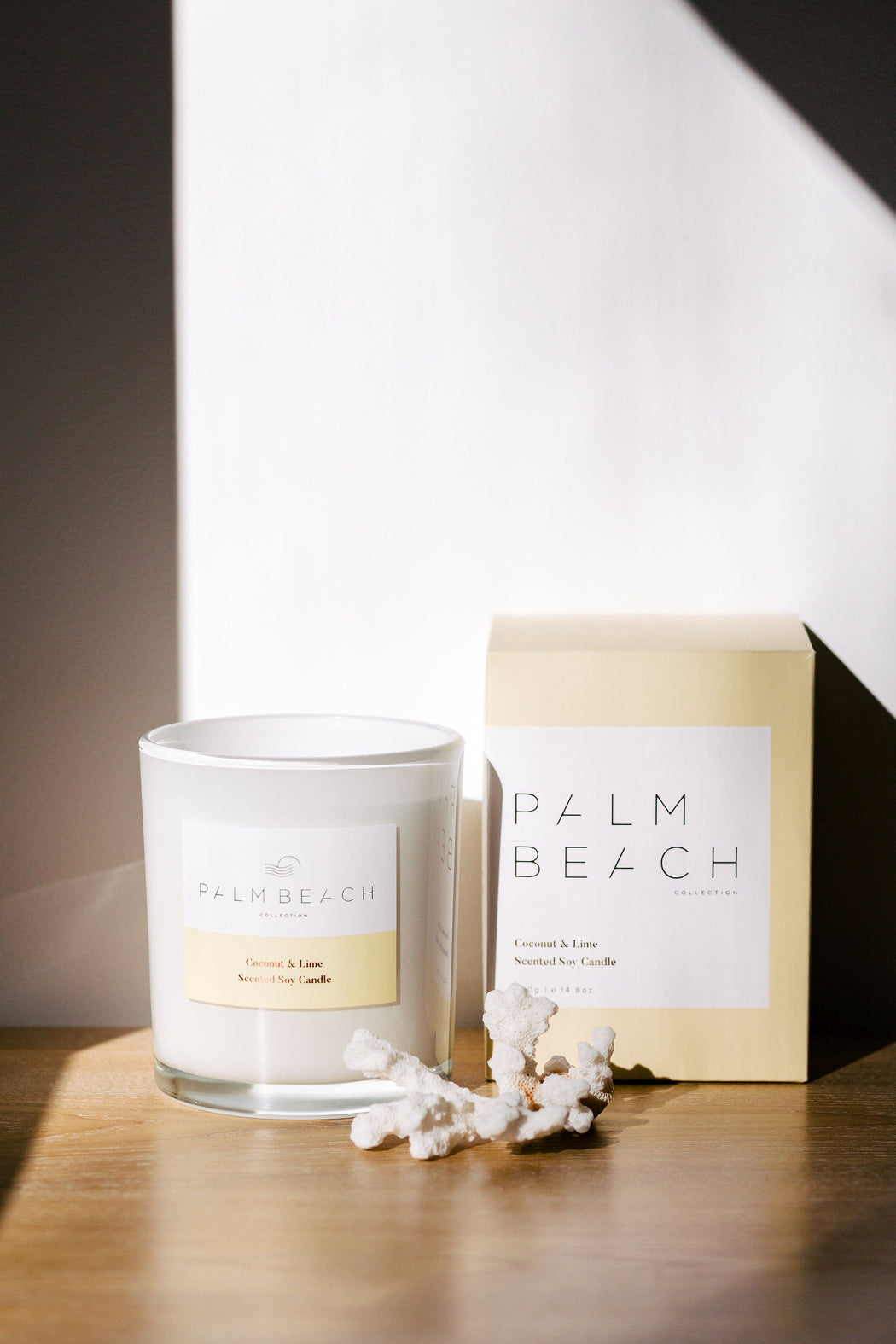 Palm Beach-PALM BEACH Coconut and Lime Standard Candle-Mott and Mulberry