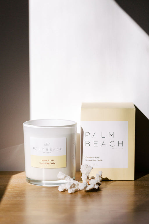 Palm Beach-PALM BEACH Coconut and Lime Standard Candle-mott-and-mulberry-shop-online-brisbane
