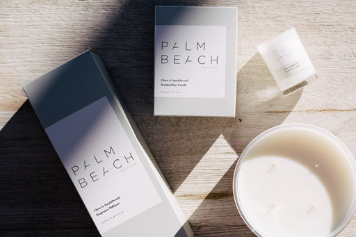 Palm Beach-PALM BEACH Clove and Sandalwood Standard Candle-mott-and-mulberry-shop-online-brisbane