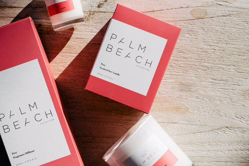 Palm Beach-PALM BEACH Posy Standard Candle-mott-and-mulberry-shop-online-brisbane