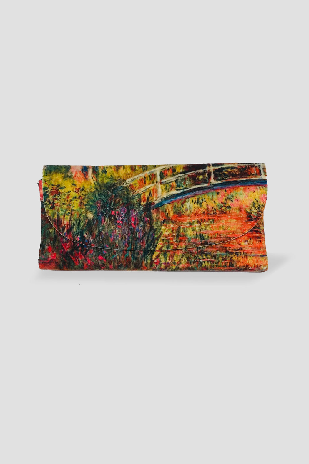 Kelnet-KELNET FRENCH VELOUR GLASSES CASE MONET LE PANT JAPONAIS-Mott and Mulberry