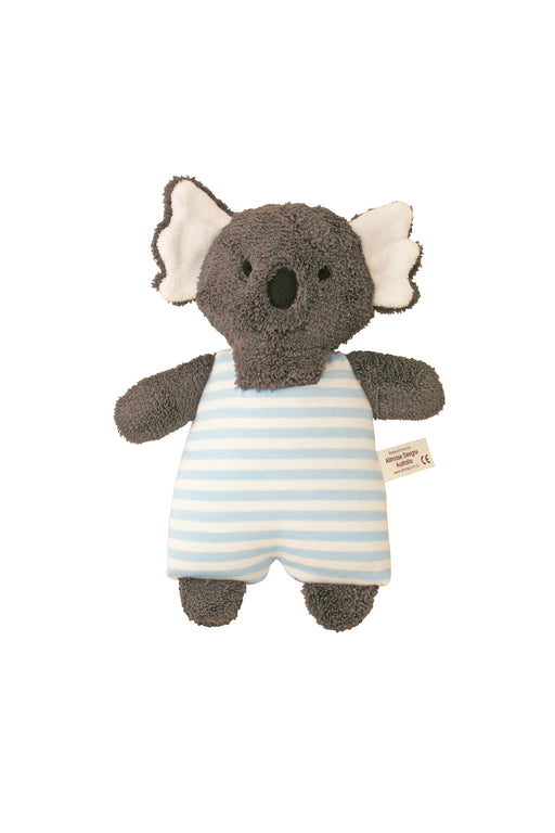 Alimrose-Koala Toy Rattle 23cm Blue-mott-and-mulberry-shop-online-brisbane