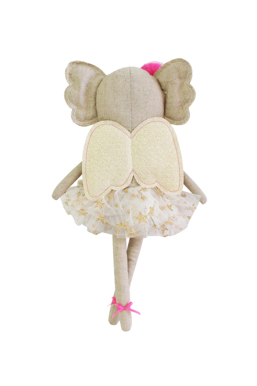Alimrose-Merry Angel Linen Doll 40cm Koala-mott-and-mulberry-shop-online-brisbane