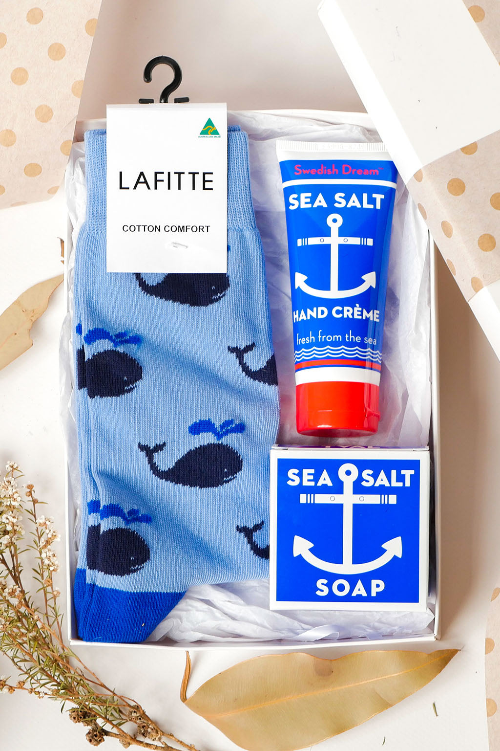 Mott and Mulberry-Keep Him in Shipshape Gift Set-Mott and Mulberry