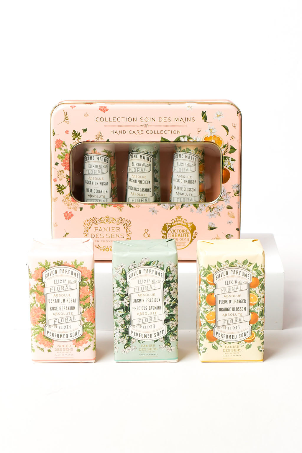 Mott and Mulberry-En  Provence Perfume Soap and Hand Cream Gift Set-Mott and Mulberry