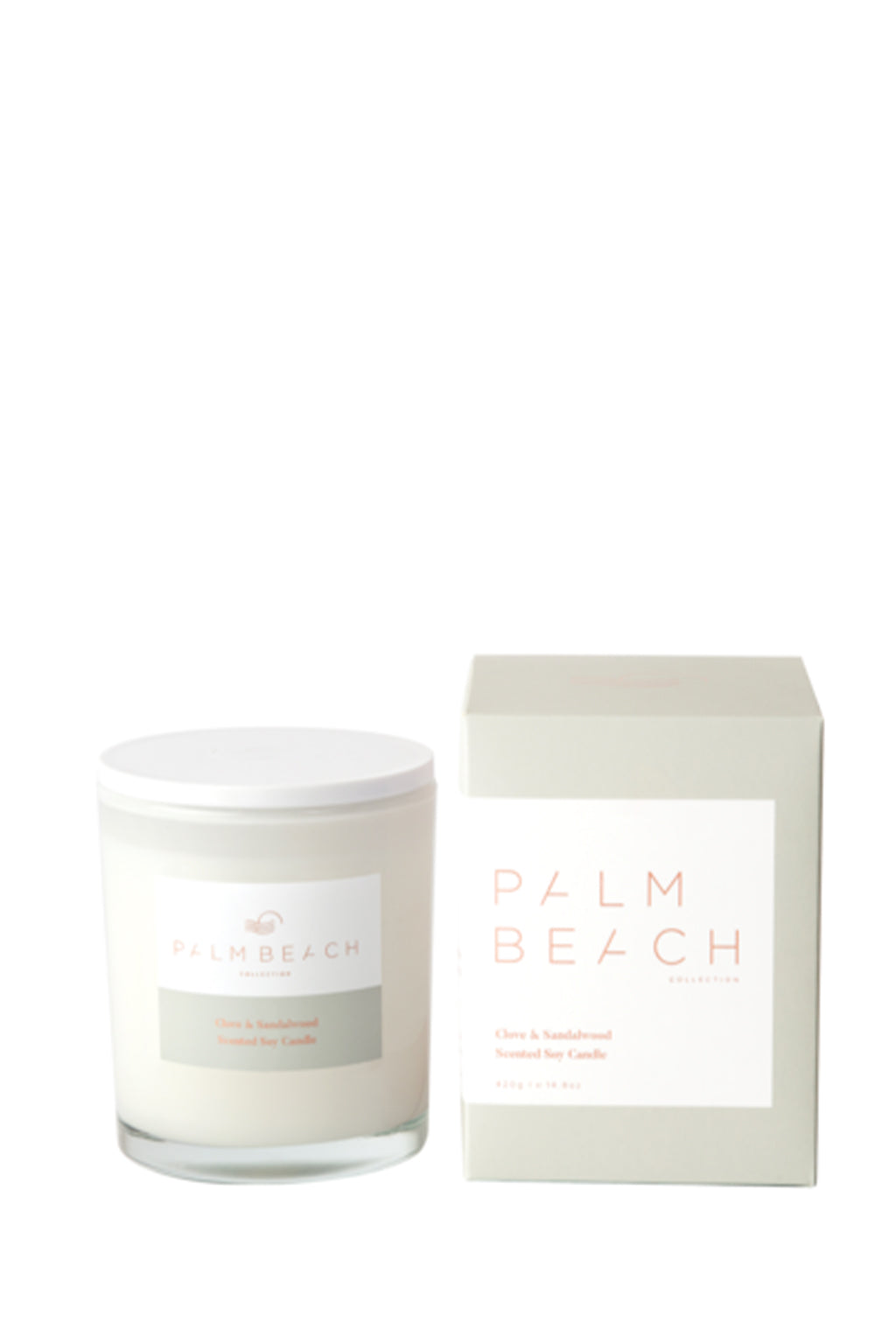 Palm Beach-PALM BEACH Clove and Sandalwood Mini Candle-Mott and Mulberry