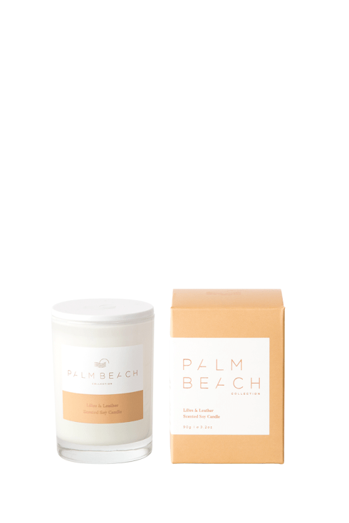 Palm Beach-Palm Beach Fragrance Lillies and Leather Mini Candle-Mott and Mulberry