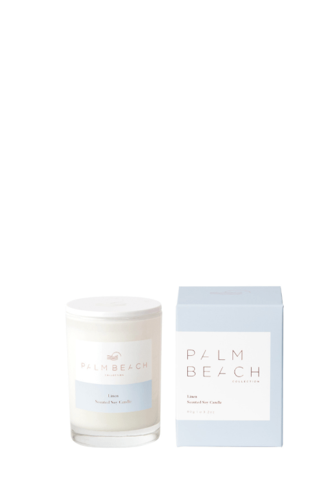 Palm Beach-Palm Beach Fragrance Linen Mini Candle-Mott and Mulberry