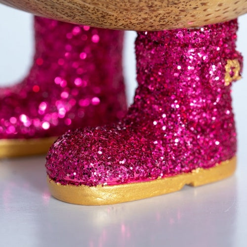 DCUK-Disco Duckling with Sparkly Wellington Boots - Kathryn-Mott and Mulberry