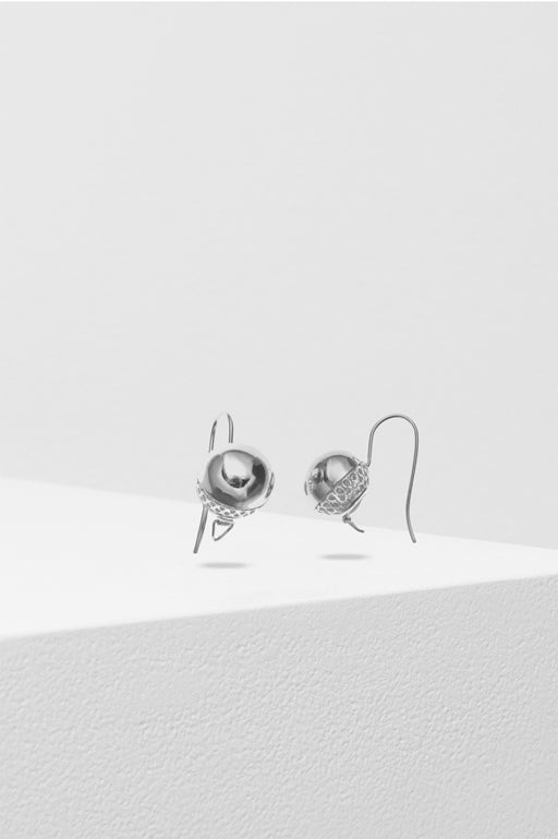 Liberte-Chelsea Earring Silver-Mott and Mulberry