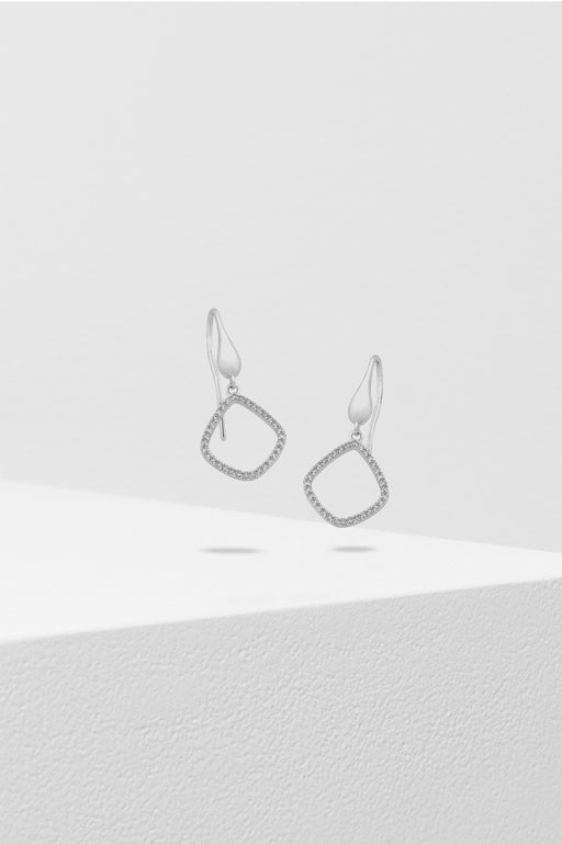 Liberte-Marlo Earring Silver-Mott and Mulberry