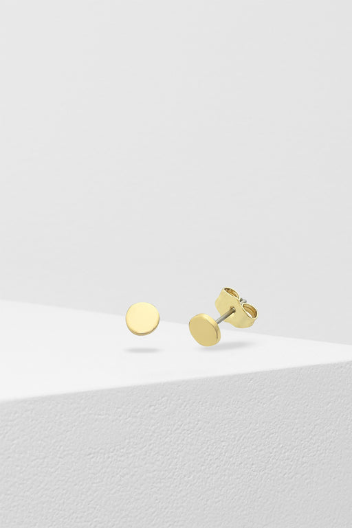 Liberte-Petite Dot Earring Gold-Mott and Mulberry