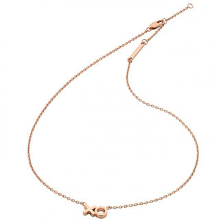 Liberte-Charli Rose Gold Necklace-Mott and Mulberry