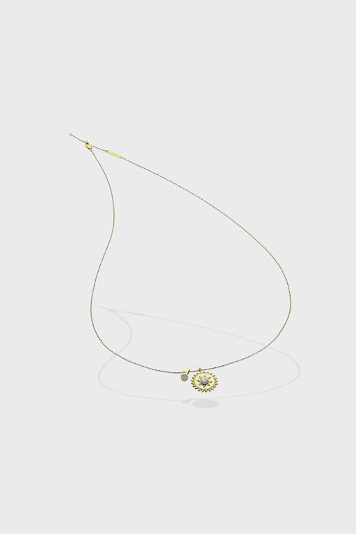 Liberte-Lorelei Gold Necklace-Mott and Mulberry