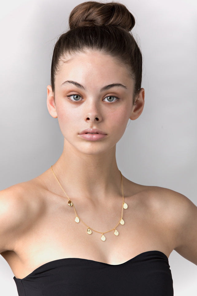 Liberte-Sonny Rose Gold Necklace-Mott and Mulberry
