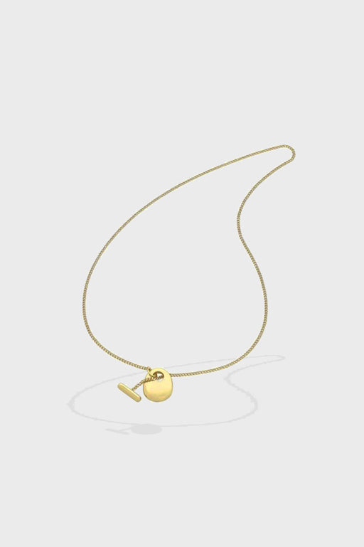 Liberte-Katrine Gold Necklace-Mott and Mulberry
