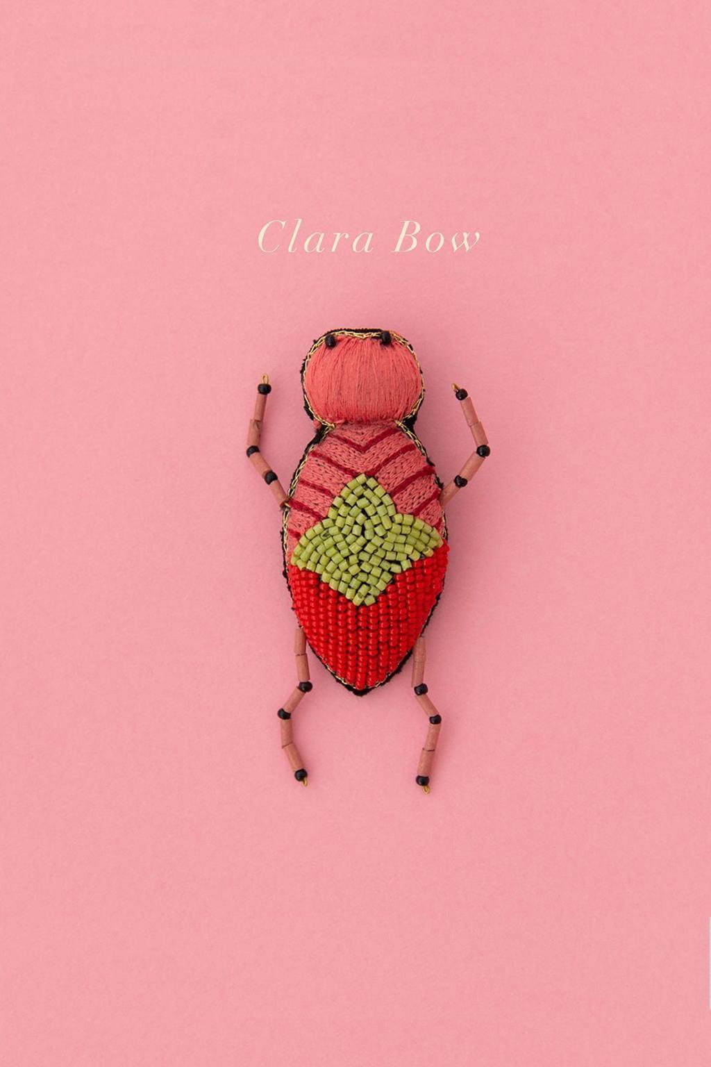 Ruby Olive-Delicate Brooch - Clara Bow-Mott and Mulberry