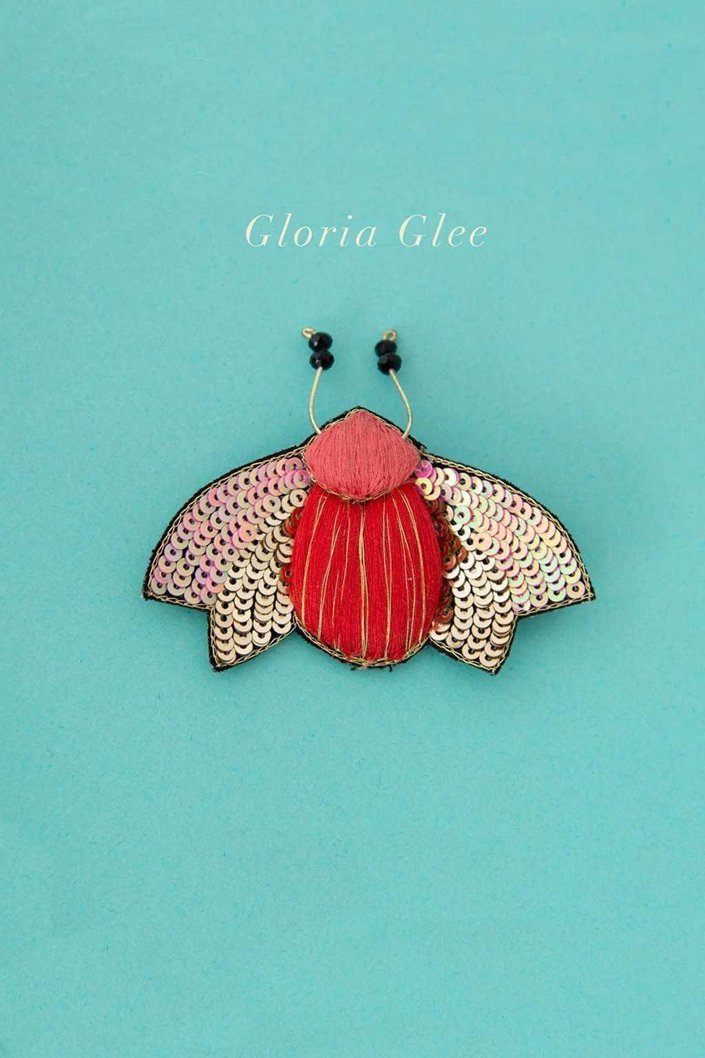 Ruby Olive-Delicate Brooch - Gloria Glee-Mott and Mulberry