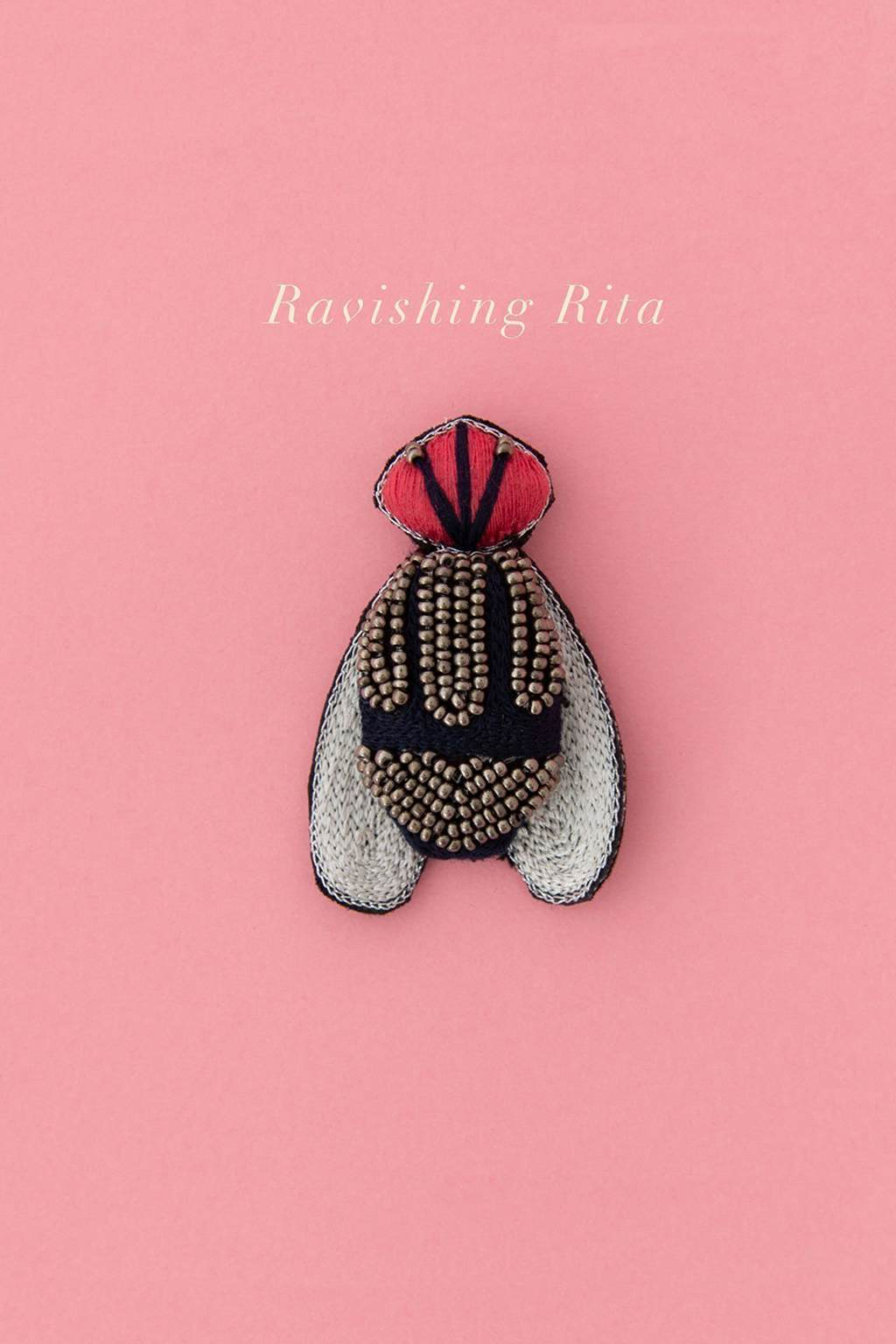 Ruby Olive-Delicate Brooch - Ravishing Rita-Mott and Mulberry