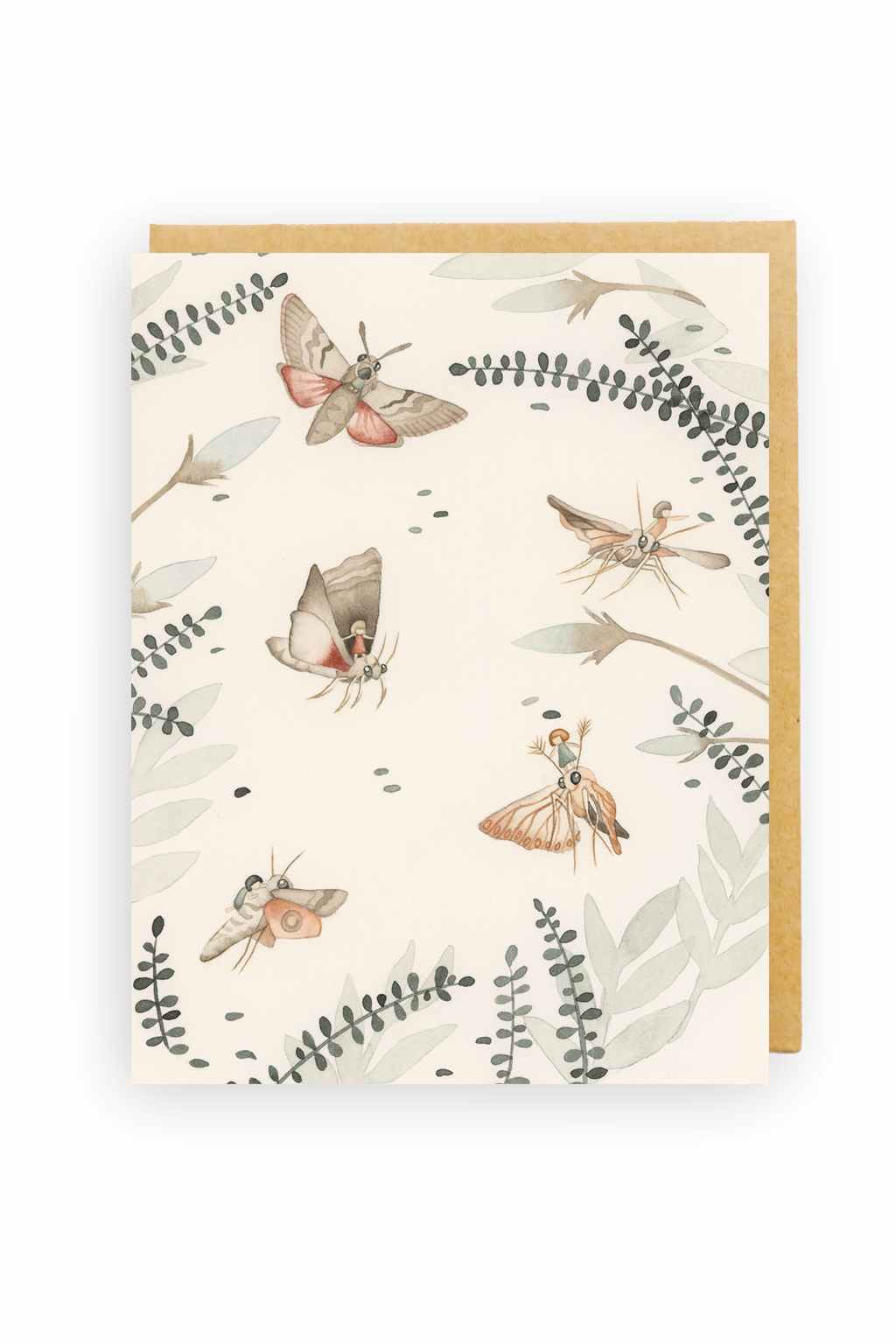 Squirrel Design Studio-Windswept - Greeting Card-Mott and Mulberry