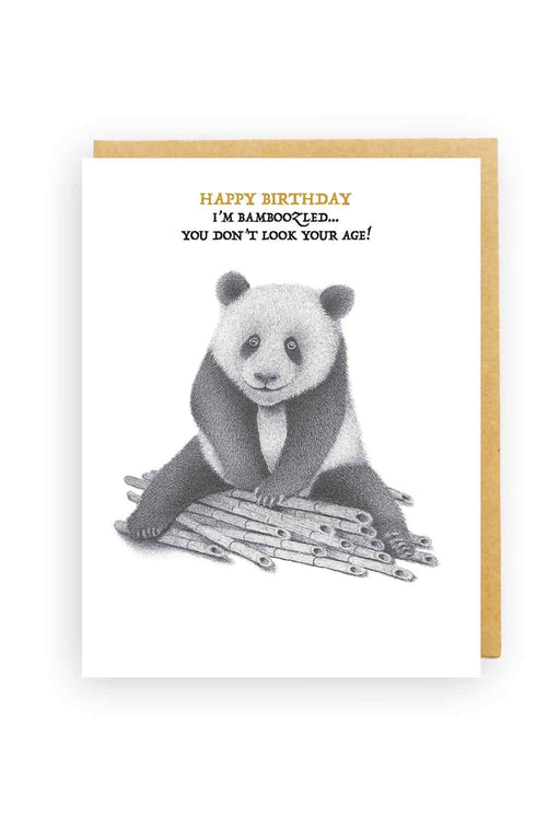 Squirrel Design Studio-Bamboozled Panda You Don't Look Your Age - Birthday Card-Mott and Mulberry
