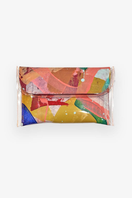 Tiff Manuell-Tiff Manuell Mini Clutch - Beach Baby Bag-Mott and Mulberry