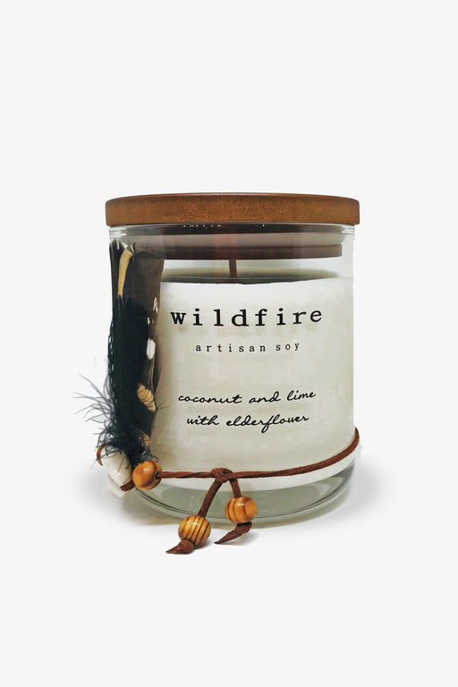 Wildfire-Coconut and Lime with Elderflower Candle-Mott and Mulberry
