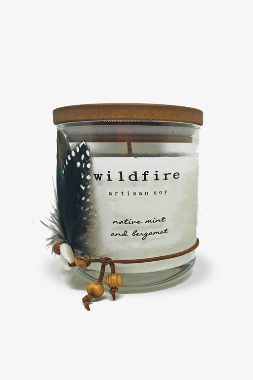 Wildfire-Native Mint and bergamot Candle-Mott and Mulberry