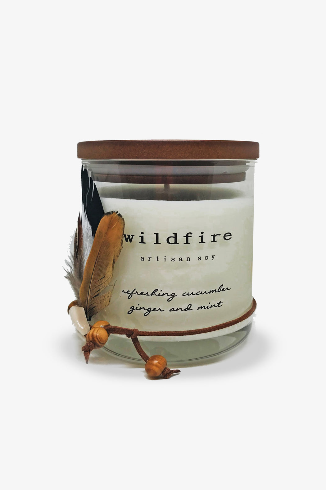 Wildfire-Refreshing Cucumber Ginger and Mint Candle-Mott and Mulberry