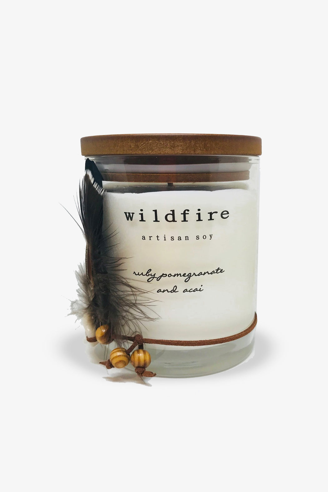 Wildfire-Ruby Pomegranate and Acai Candle-Mott and Mulberry