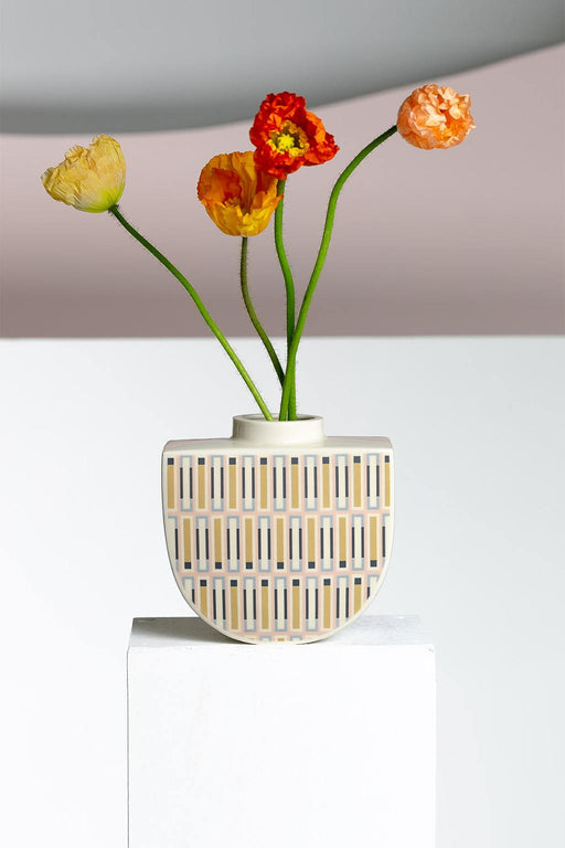 Erin Lightfoot-Wildflowers Boat Vase-Mott and Mulberry