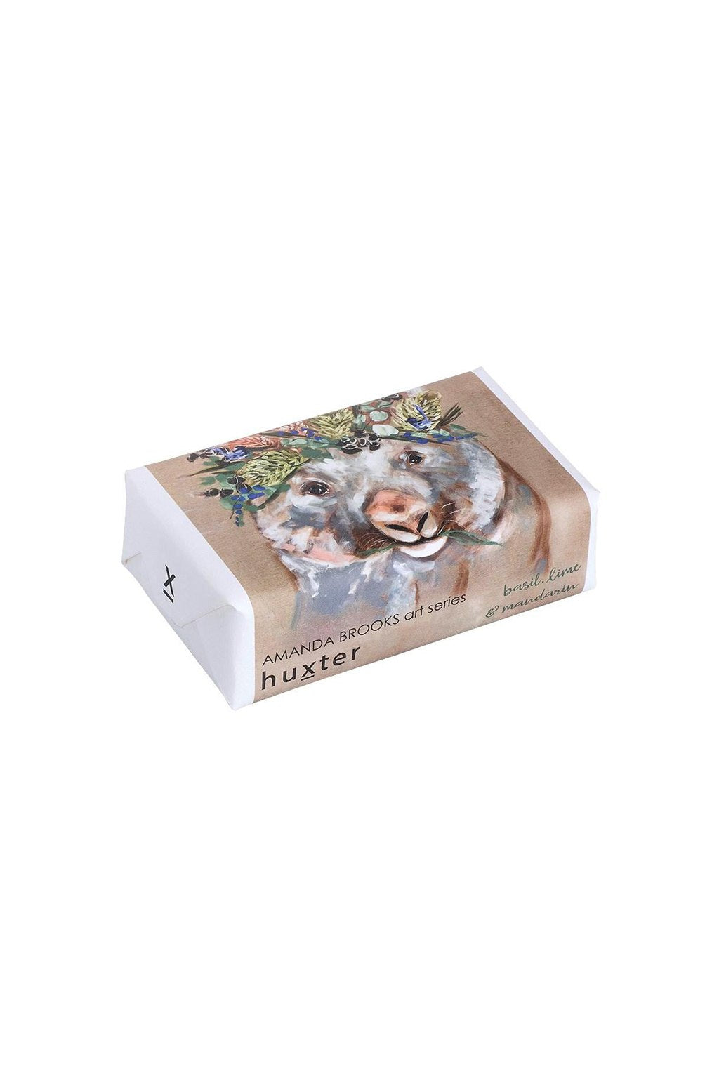 Huxter-Huxter Soap - Forget Me Not Wombat-Mott and Mulberry