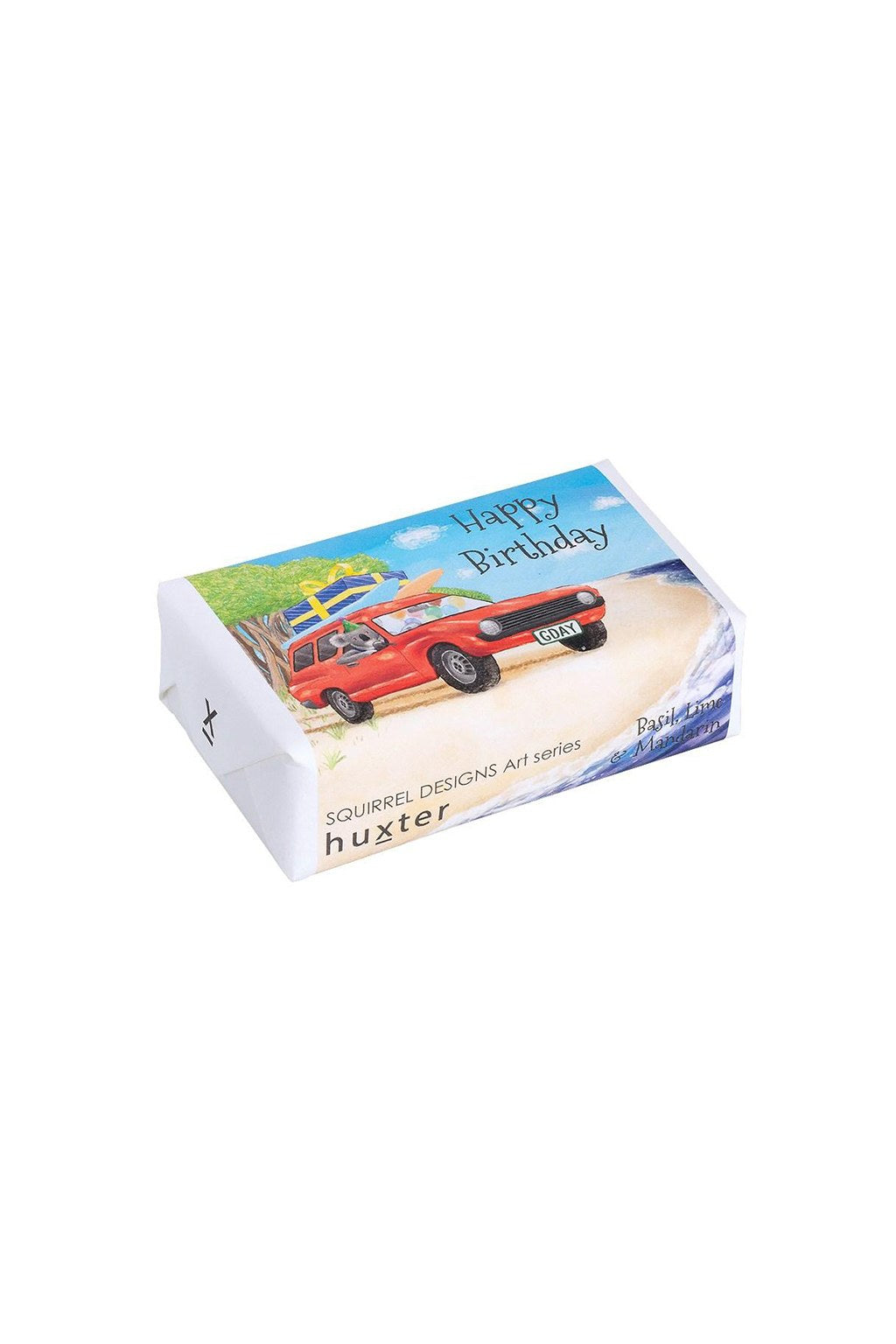 Huxter-Huxter Soap - Koala driving panel van' - Happy Birthday-Mott and Mulberry